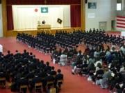 平成30年度 入学式 校長式辞
